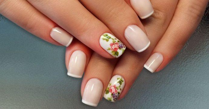 Дизайн ногтей в пастельных тонах с рисунком