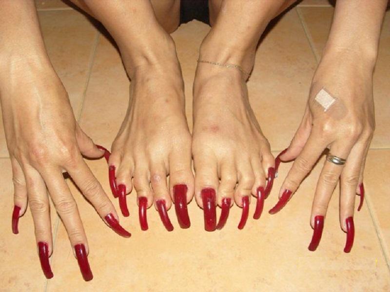 домашних женские ногти прикольный фото хотим