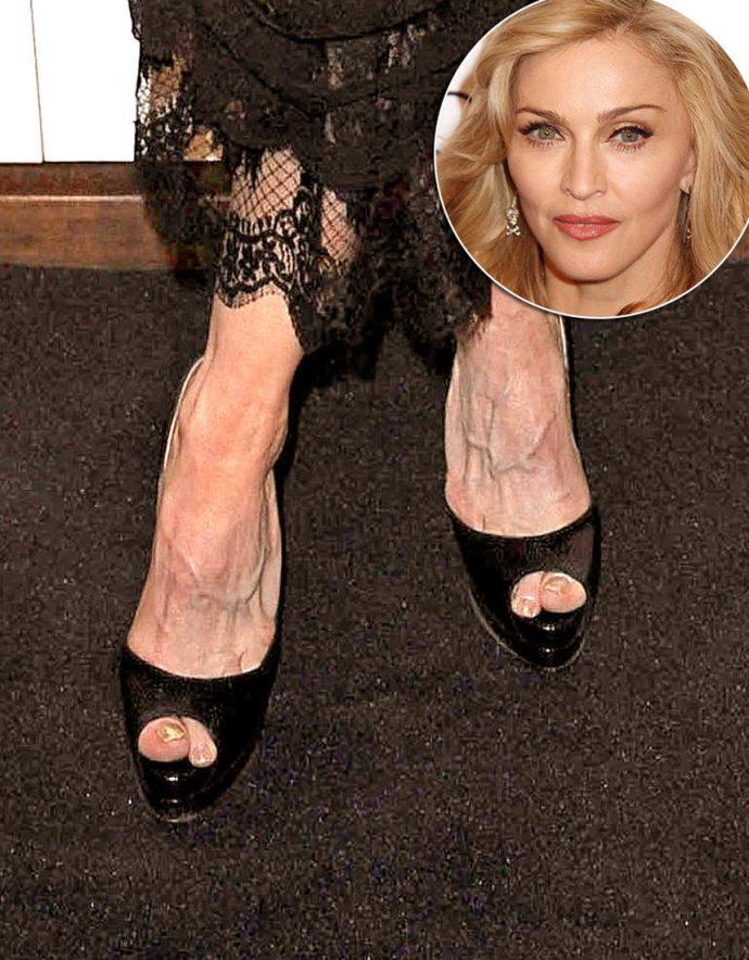 Ноги Мадонны