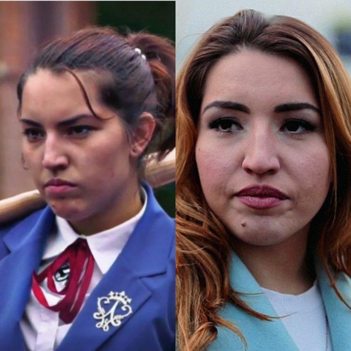 Участница первого сезона шоу Пацанки Анастасия Яворская до и после