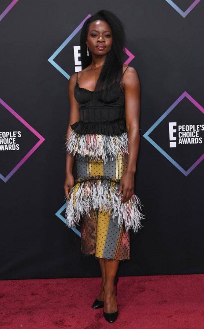 Даная Гурира на церемении People's Choice Awards 2018