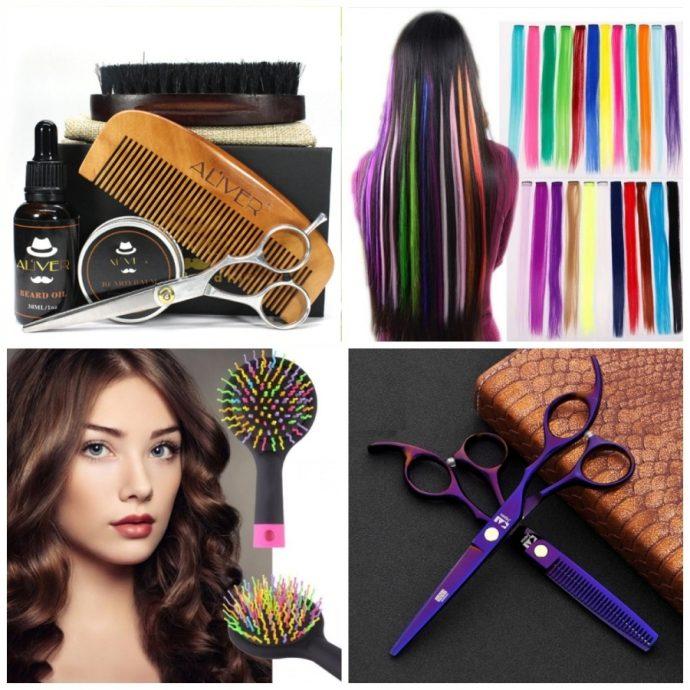 Товары по уходу за волосами на AliExpress