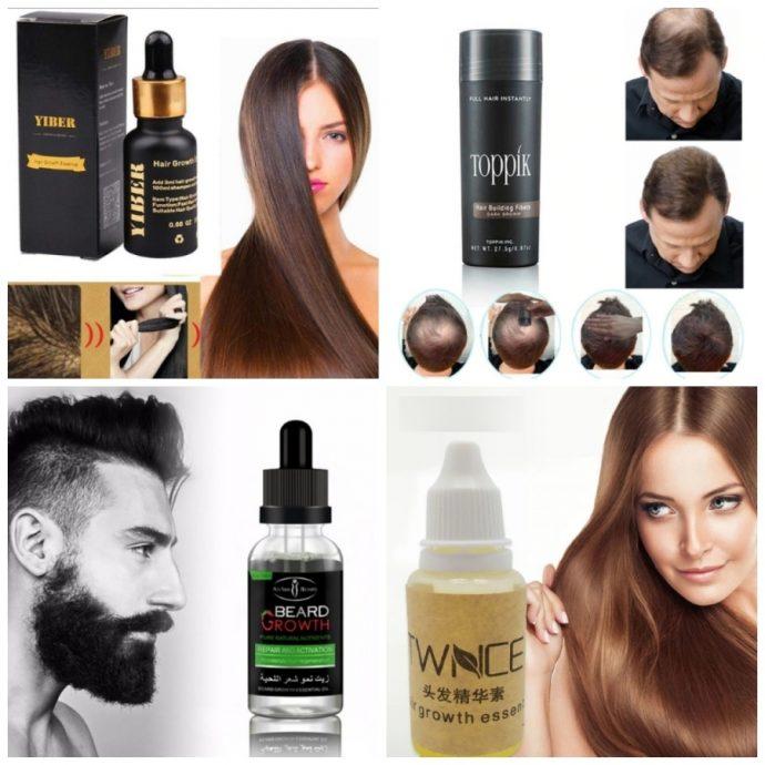Средства для ускорения роста волос на AliExpress