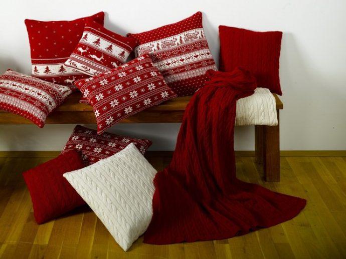 Уютный новогодний текстиль для дома