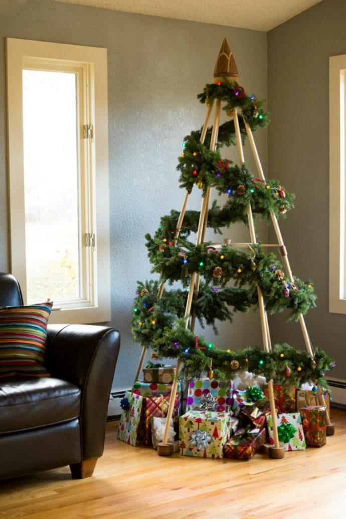 Как украсить квартиру к Новому 2019 году