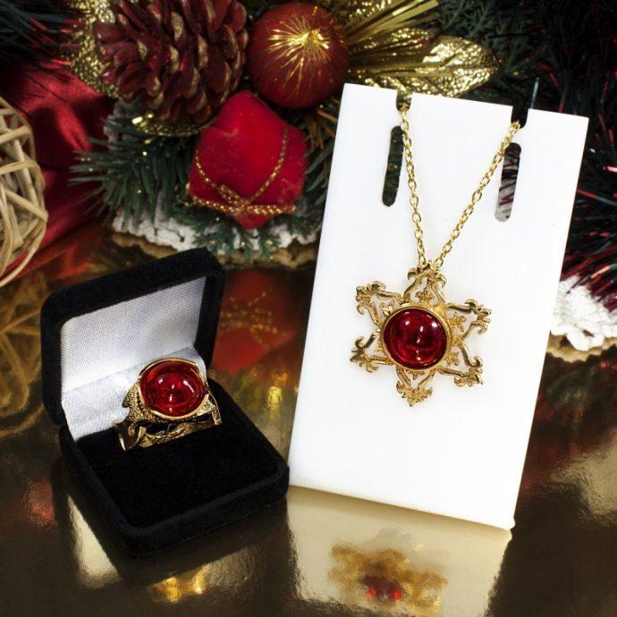 Ювелирные украшения в подарок на Новый год