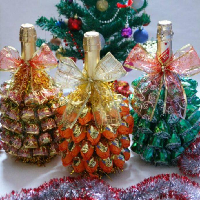 Новогоднее шампанское в подарок