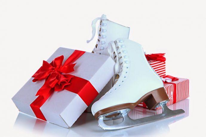 Фигурные коньки в подарок