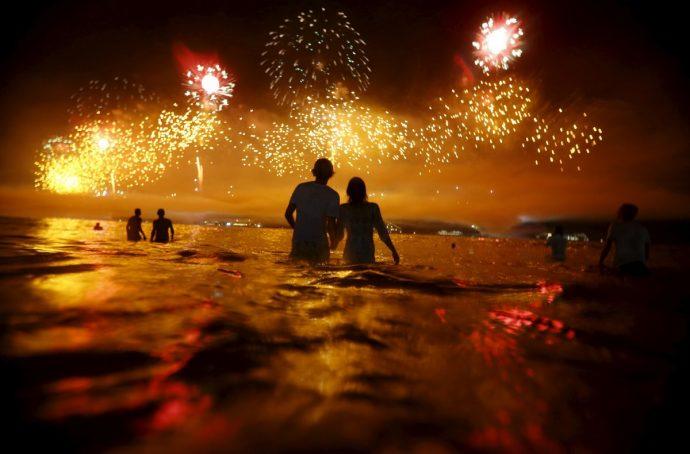 Новый год на побережье