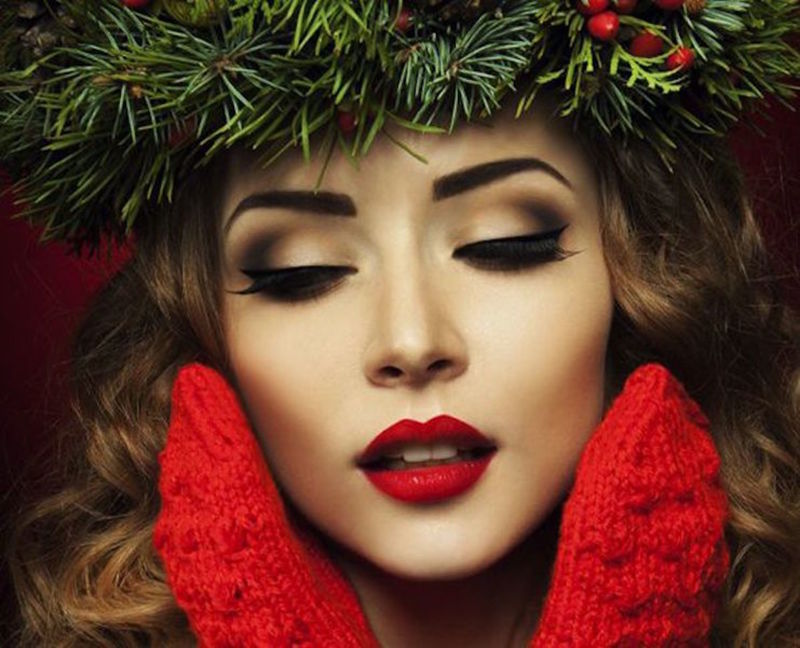 45 вариантов прекрасного макияжа на Новый 2019 год