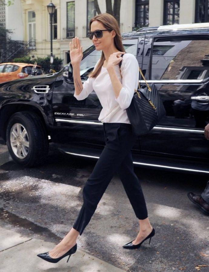 Анджелина Джоли в жизни