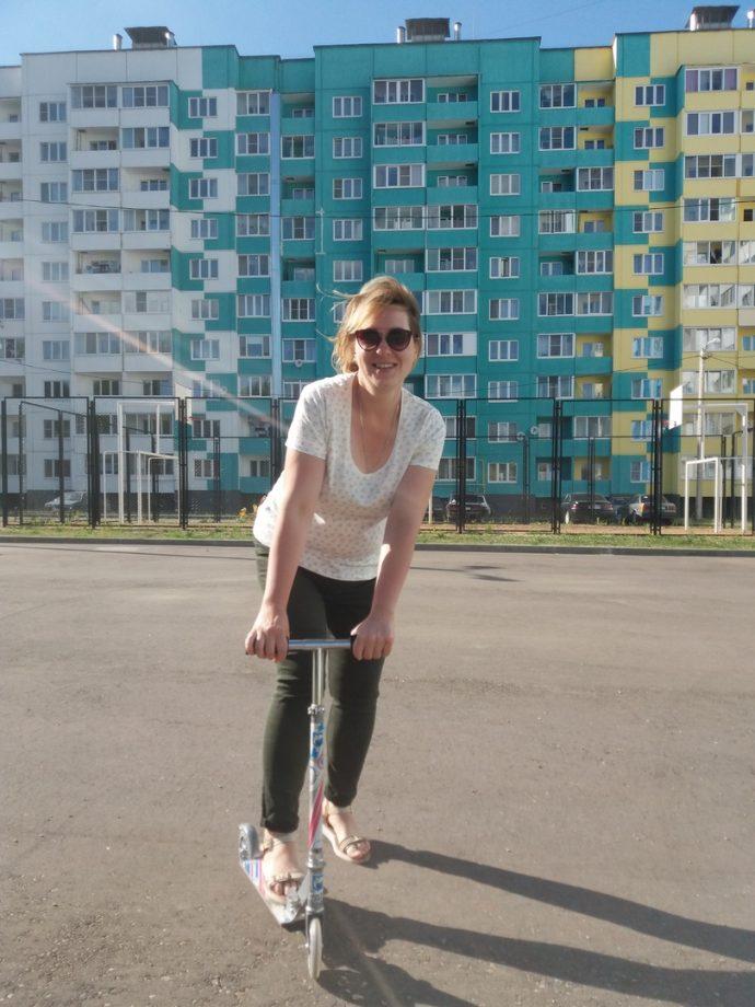 Полина Пискарёва «после»
