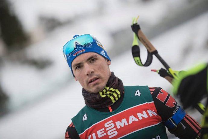 Биатлонист Симон Шемпп