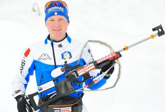 Биатлонист Лукас Хофер