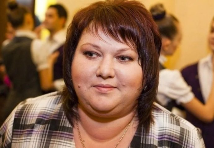 Ольга Картункова до похудения