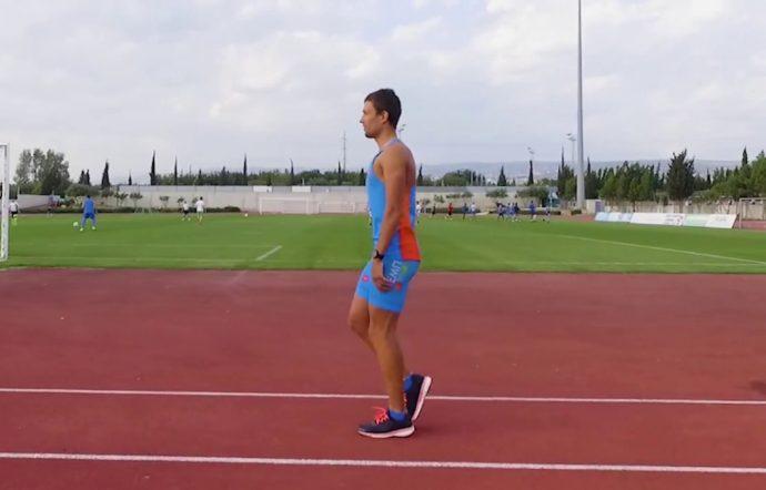 Семенящий бег на месте