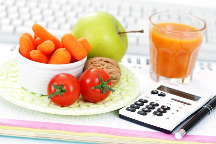 Продукты и калькулятор