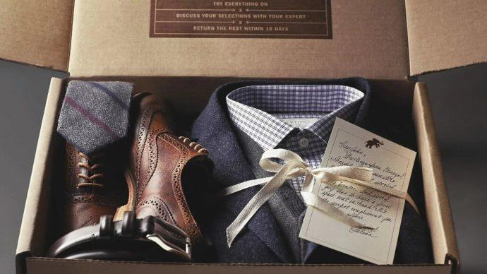 Мужская одежда в подарок