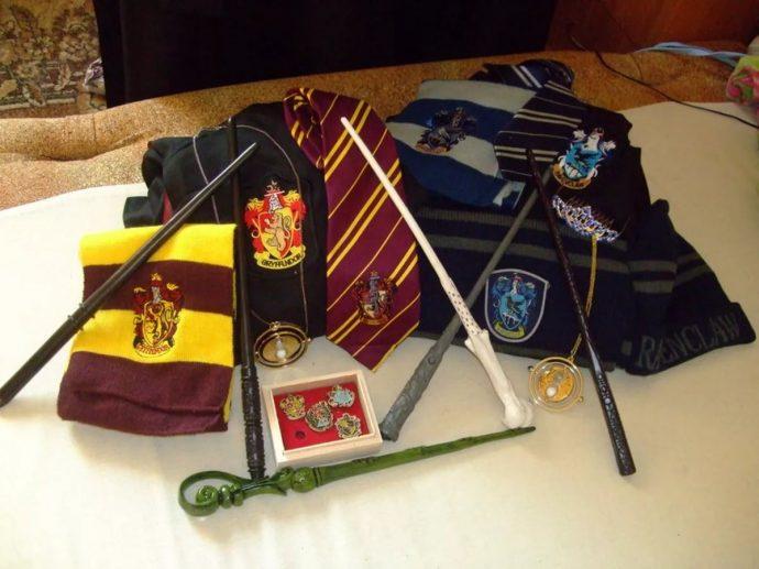 Одежда и аксессуары вселенной Гарри Поттера