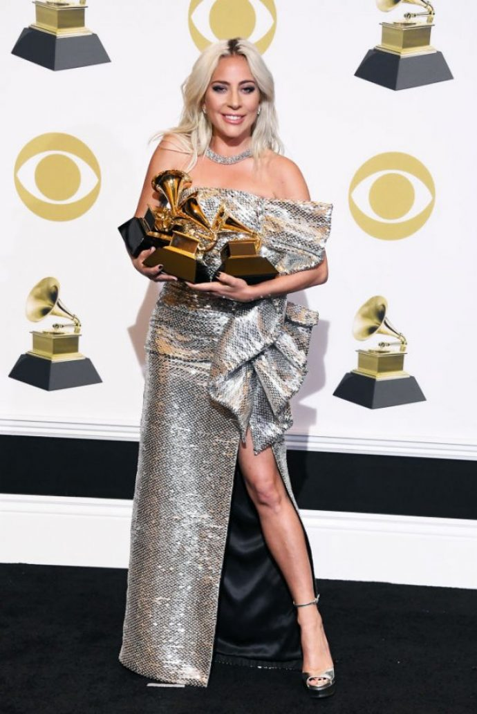 Леди Гага на вручении премии Грэмми 2019