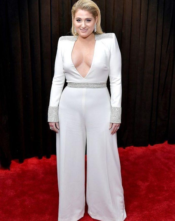 Меган Трейнор на вручении премии Грэмми 2019