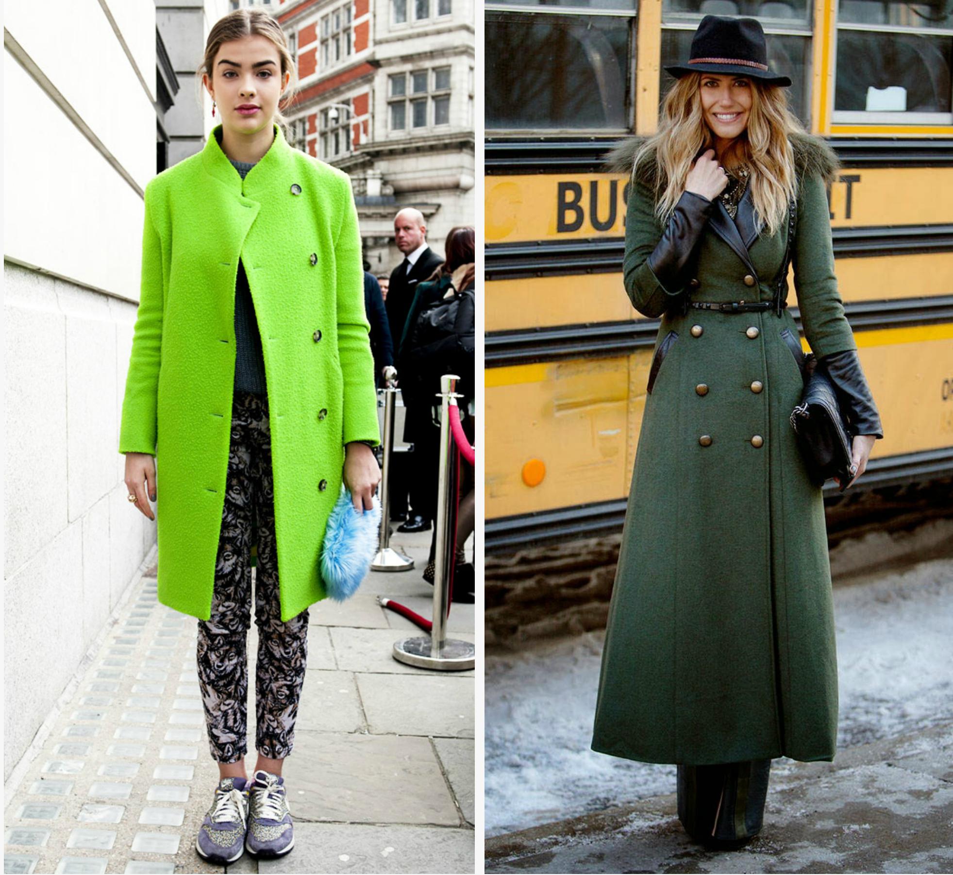 конечно, ничем с чем носить бледно зеленое пальто фото нас