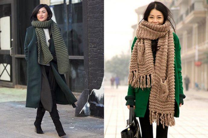 Образы с зеленым пальто