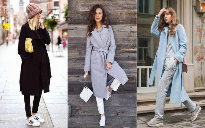 Образы в пальто-халатах