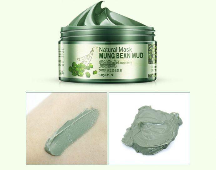 Очищающая маска для лица Mung Bean Mud