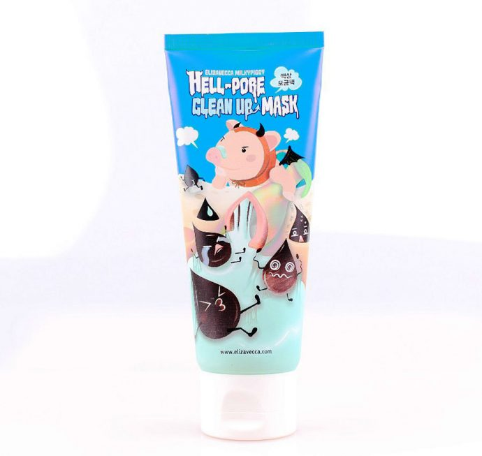 Маска-пленка Milky Piggy Hell Pore Clean up mask от Elizavecca