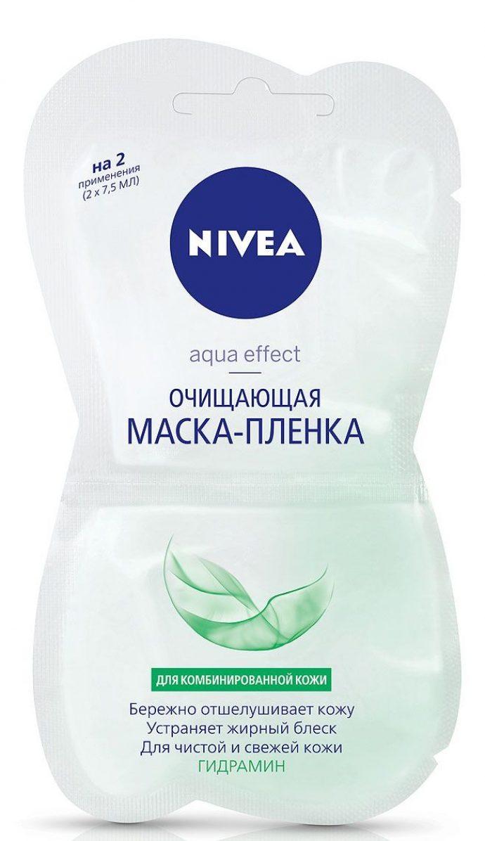 Очищающая маска-пленка Aqua Effect от Nivea