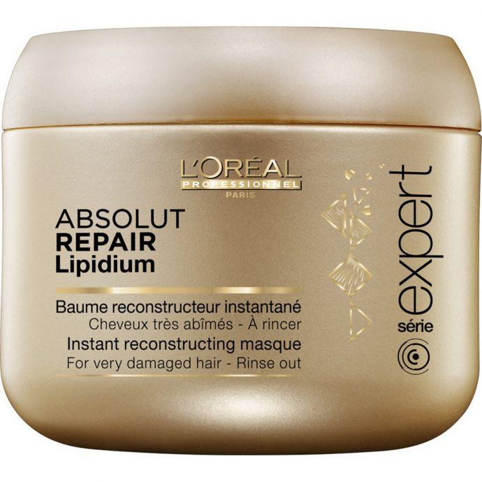 Восстанавливающая маска для волос L`Oreal Professionnel Absolut repair lipidium