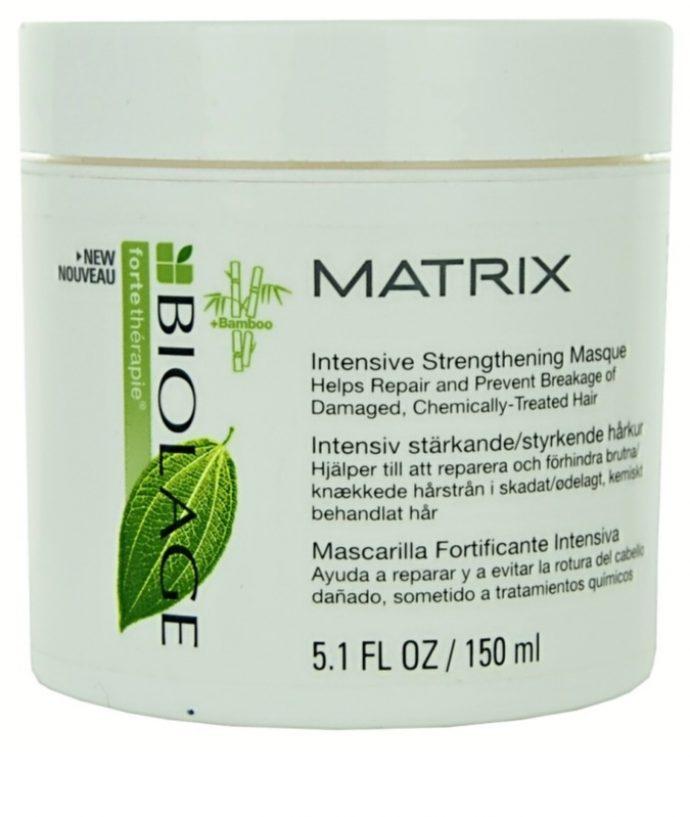 Восстанавливающая маска для волос Biolage fortetherapie Matrix