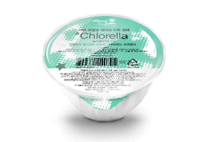 Корейская маска для лица Ettang Modeling Take-Out Cup Pack Chlorella