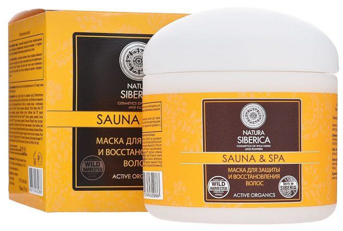 Восстанавливающая маска для волос Natura Siberica Sauna & Spa