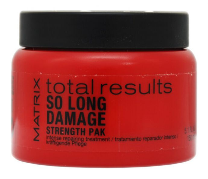 Восстанавливающая маска для волос Matrix So Long Damage Total Results
