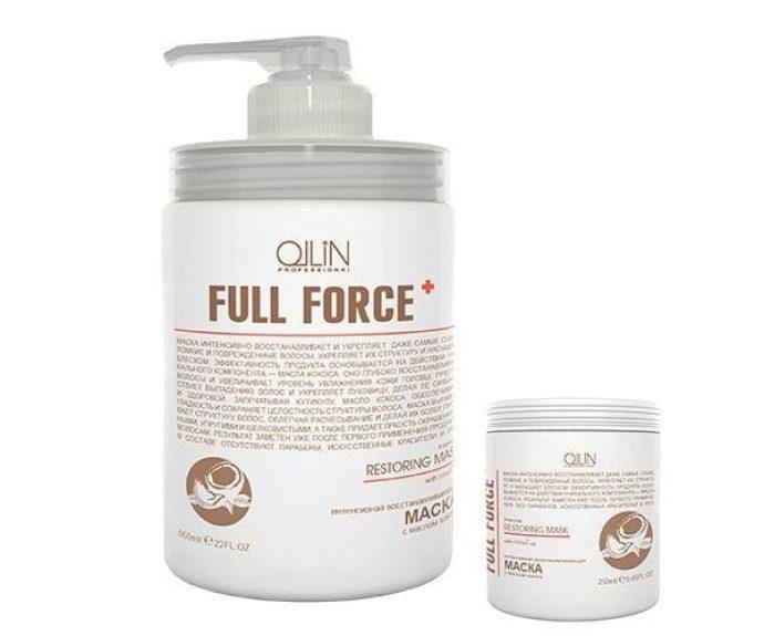 Восстанавливающая маска для волос OLLIN Professional Full Force