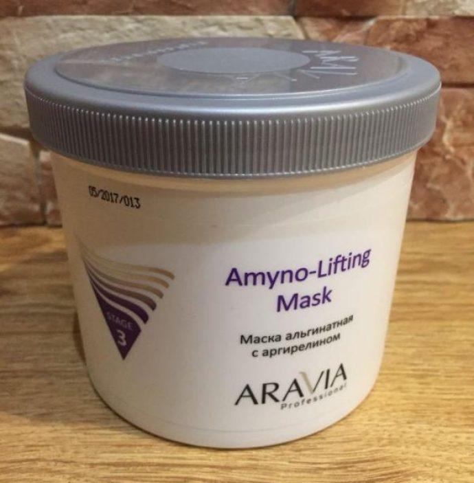 Альгинатная маска для лица Aravia Amyno-Lifting
