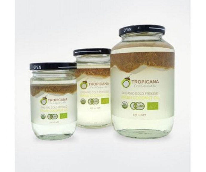 Кокосовое масло Coconut Cooking Oil Tropicana