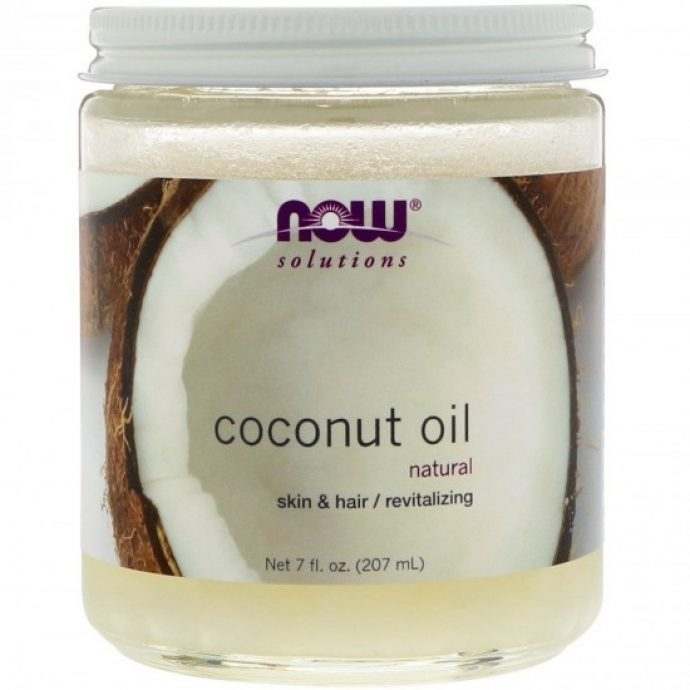 Кокосовое масло Now Foods Coconut Oil Natural