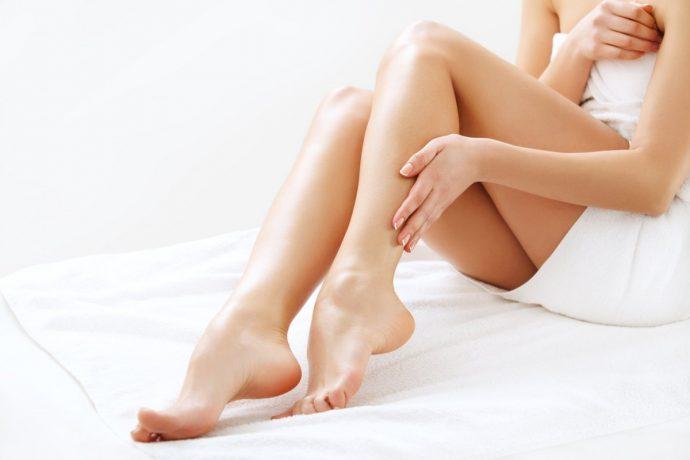 Здоровые женские ноги