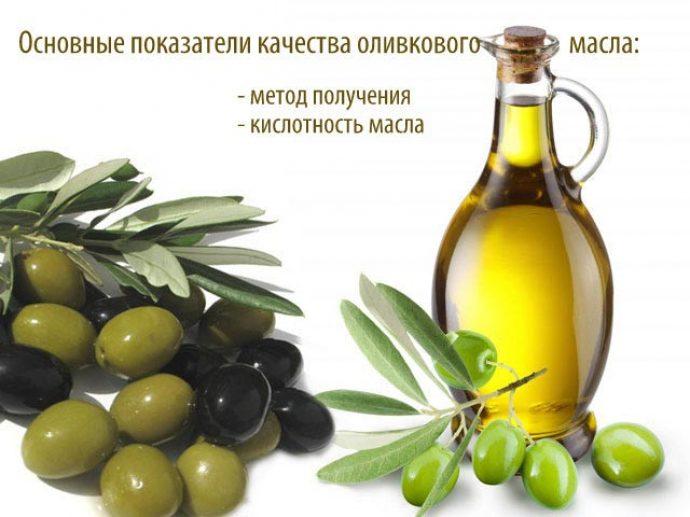 Показатели качества оливкового масла
