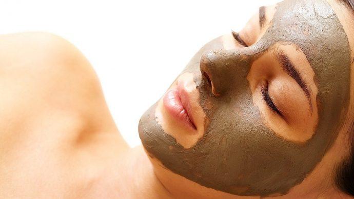 маска глиняная