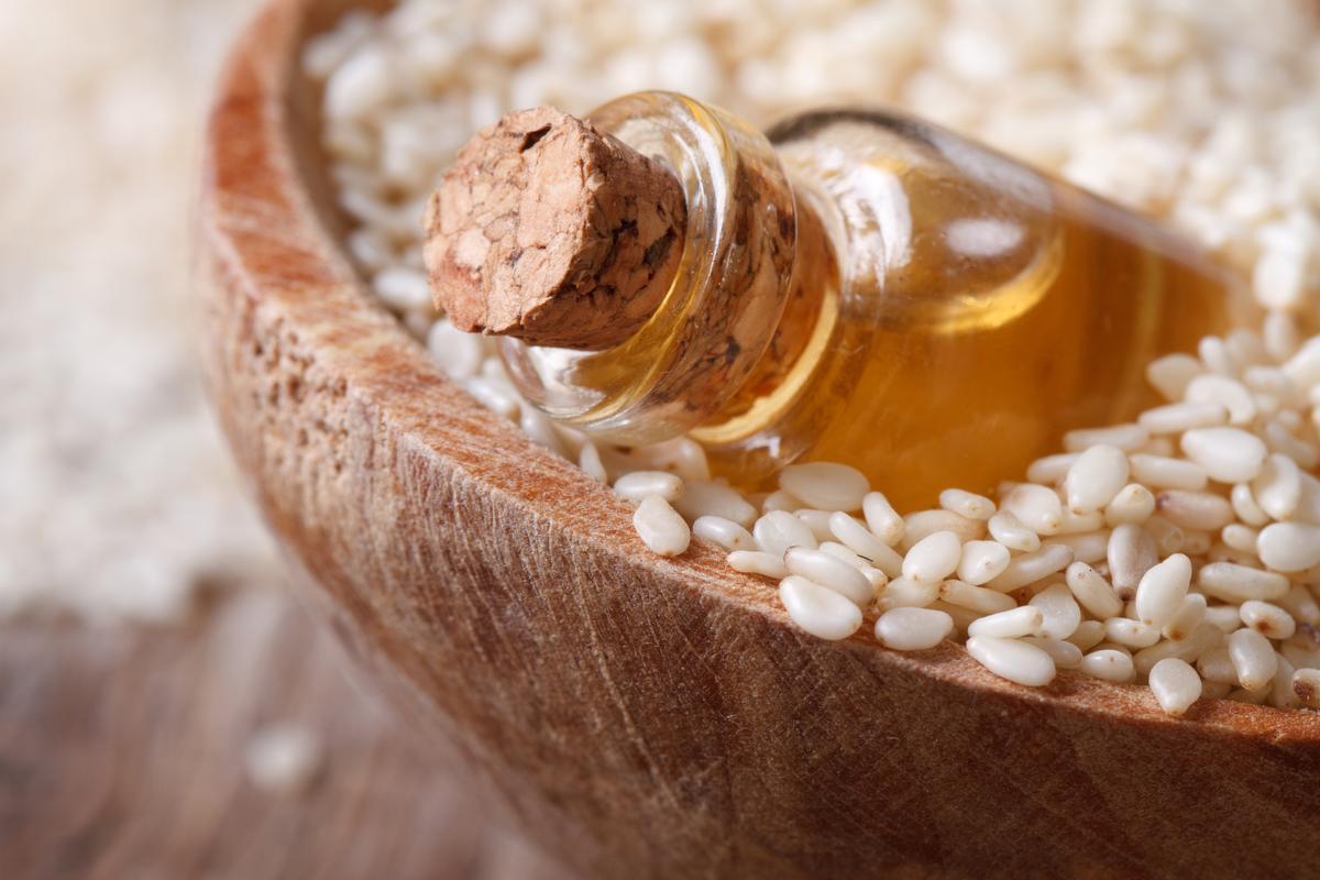 Кунжутное масло для лица, тела и волос