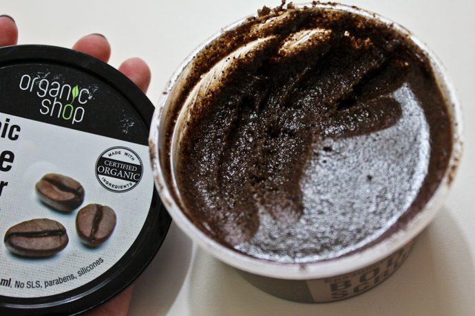 Скраб Organic Shop «Бразильский кофе с сахаром»