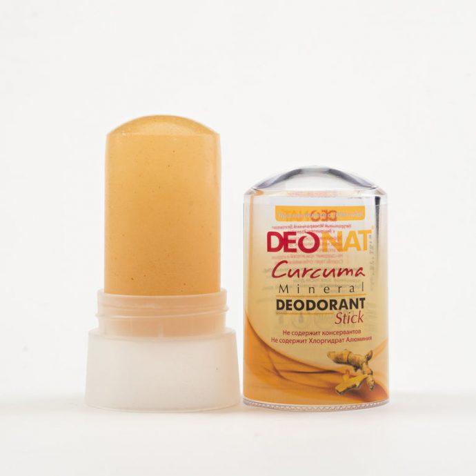 Кристаллический дезодорант с экстрактом куркумы