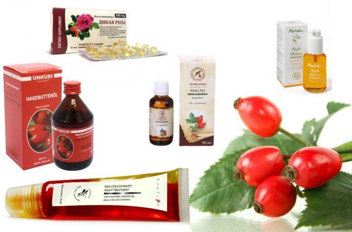 Применение разных видов масла шиповника с лечебными свойствами