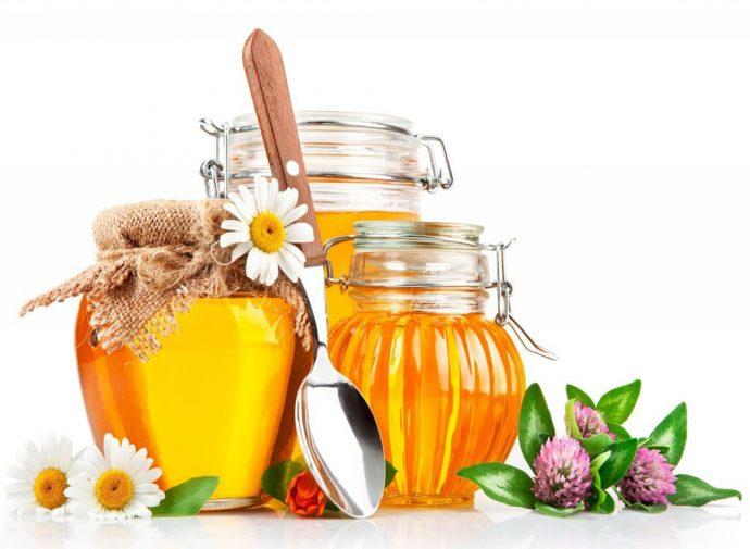 Мёд в банках