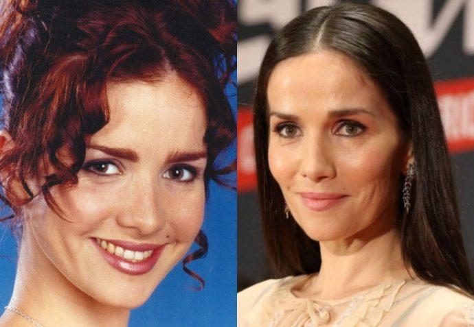 Актриса Наталия Орейро 20 лет назад и сейчас