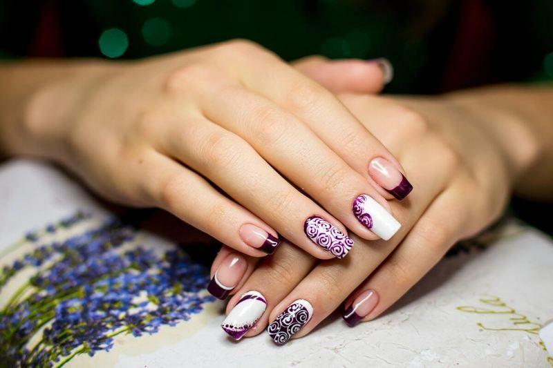 Модный дизайн наращённых ногтей: новинки 2019